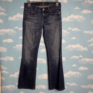 "7 For All Mankind- "" Flip Flop"" Bootcut Jeans s 26"